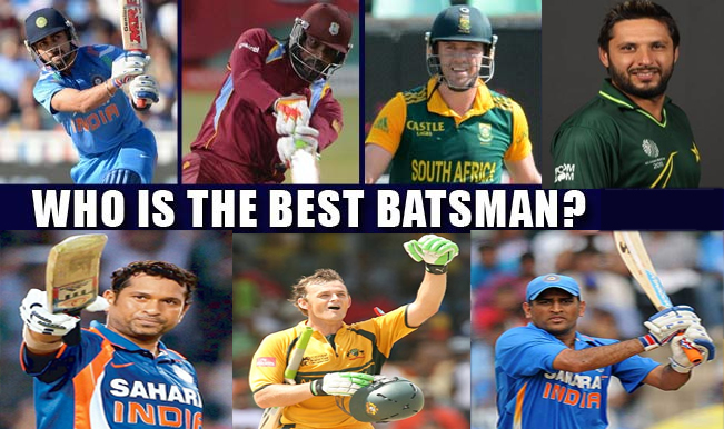Who is Your Favourite Batsman in the World