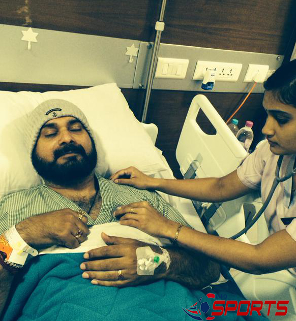 Tweets Navjot Singh Sidhu from hospital