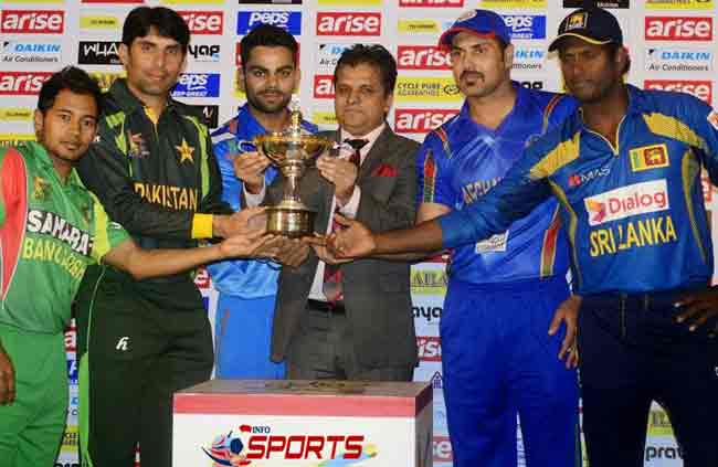 Asia cup 2016 T20 Schedule