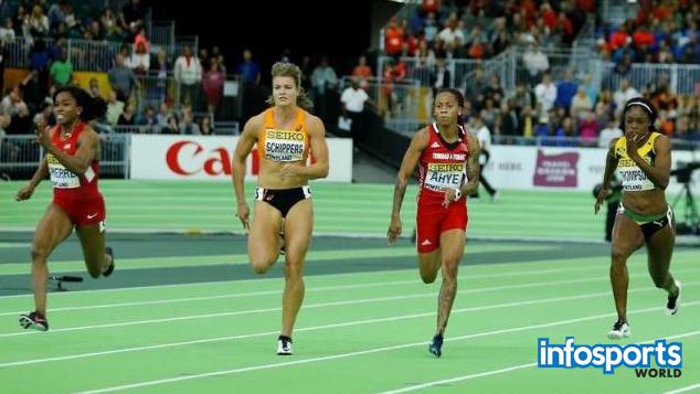 Barbara Pierre beats Dafne Schippers