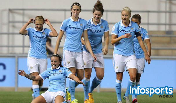 Manchester City Women beat Arsenal Ladies 2-0