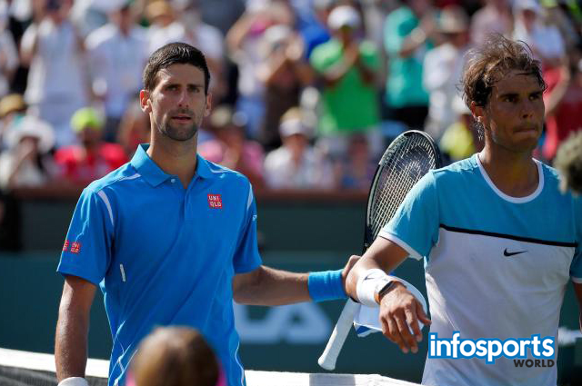 Novak Djokovic beats Rafael Nadal in the Indian Wells