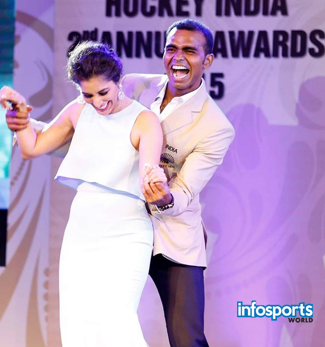 Sreejesh and Deepika won Player of the Year Hockey awards