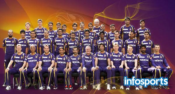 Kolkata Knight Riders Team IPL 2016