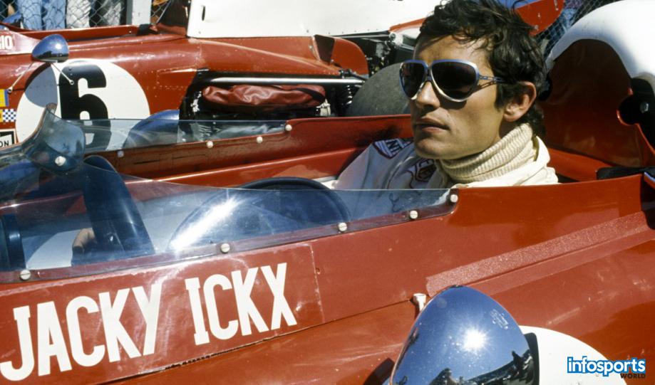 Jacky Ickx Formula 1 player