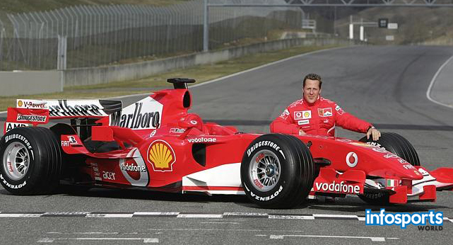 Michael Schumacher Formula 1 player