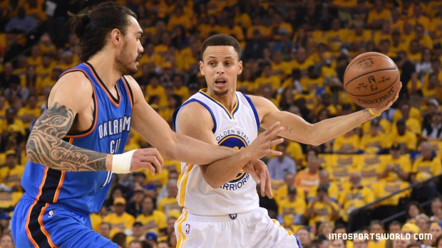 NBA Western Conference finals Oklahoma City Thunder beaten Golden State Warriors