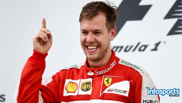 Sebastian Vettel Formula 1 player