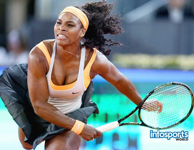 Serena Williams won't play Madrid because of Illness