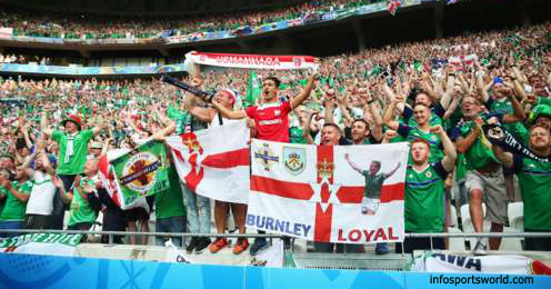 Euro 2016 Ukraine 0-2 Northern Ireland victory