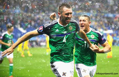 Euro 2016 Ukraine 0-2 Northern Ireland