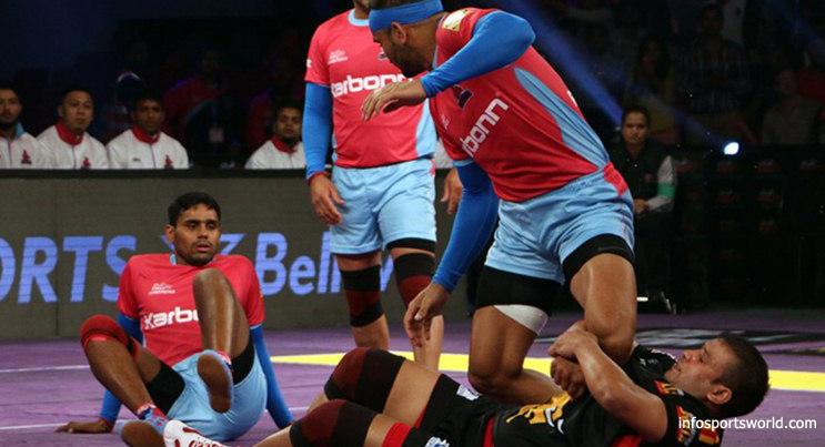 Jaipur Pink Panthers vs Bengaluru Bulls Pro Kabaddi 2016