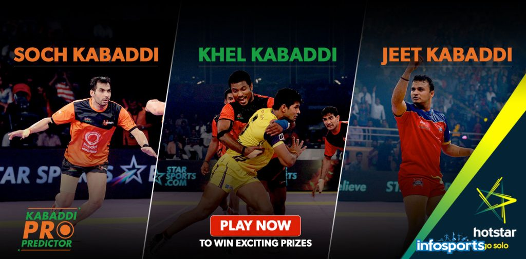 Pro Kabaddi 2016 Season 4 Points table & Standings