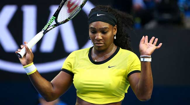 Serena Williams wins 307th record career Slam match