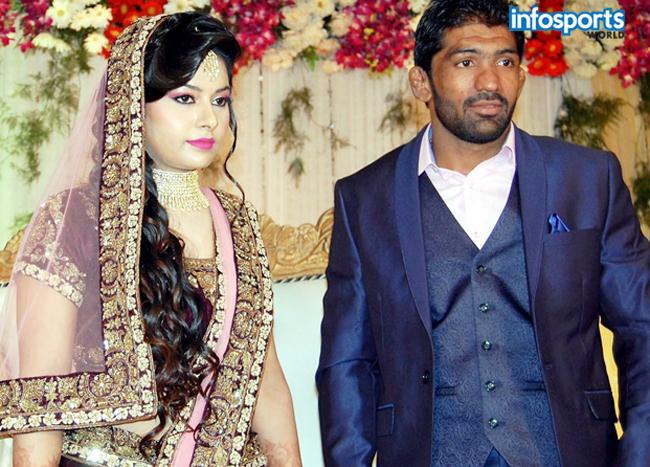 Yogeshwar Dutt and Sheetal Sharma Engaged