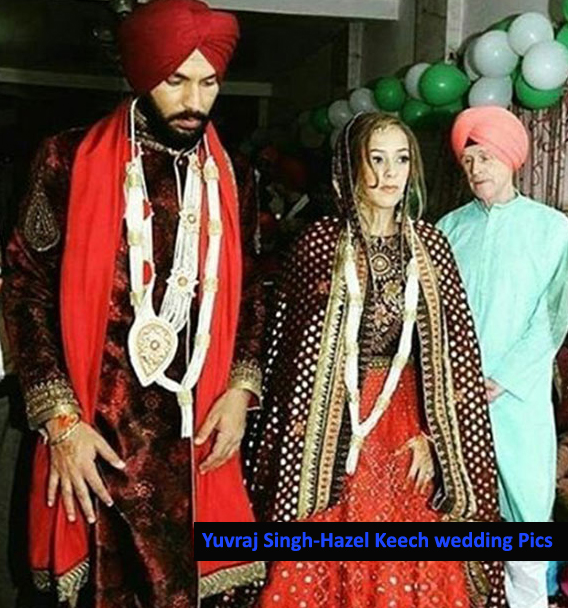 yuvraj-singh-and-actress-hazel-keech-clicked-during-their-wedding-ceremony