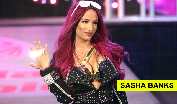 Sasha Banks Wrestler