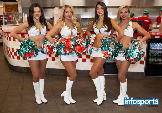 Beautiful cheerleaders from around the world