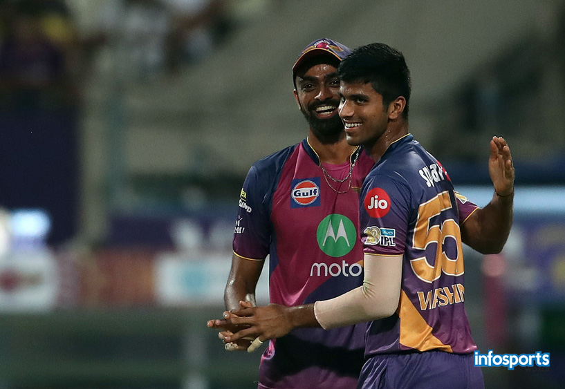 IPL 2017-Kolkata Knight Riders v Rising Pune Supergiant Photos 1