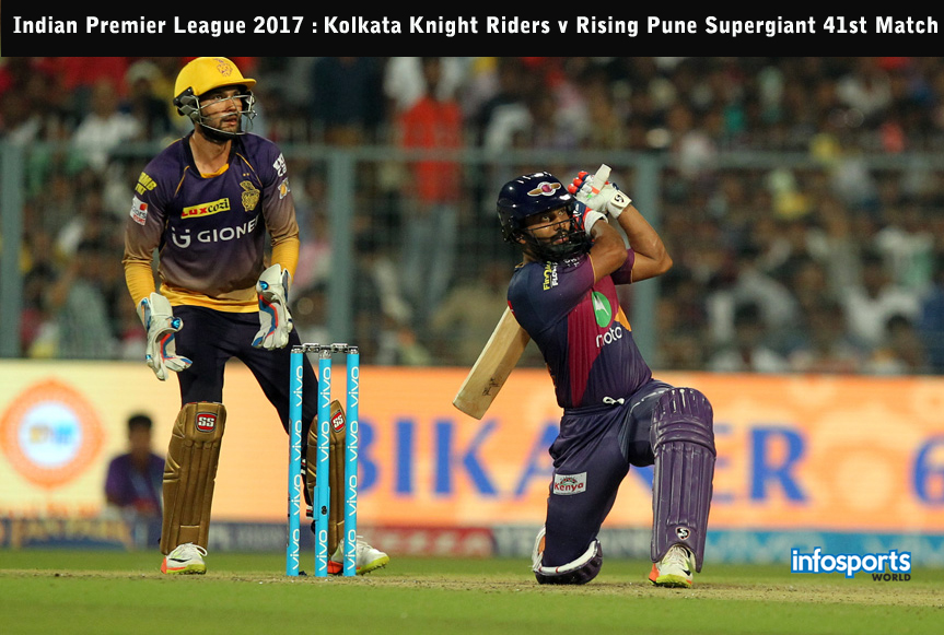 Indian Premier League 2017 Kolkata Knight Riders v Rising Pune Supergiant 41st Match
