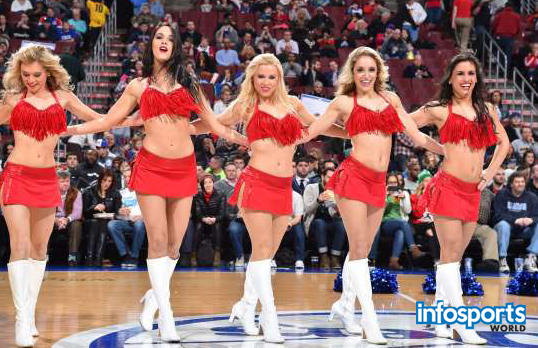 Philadelphia Cheer leaders