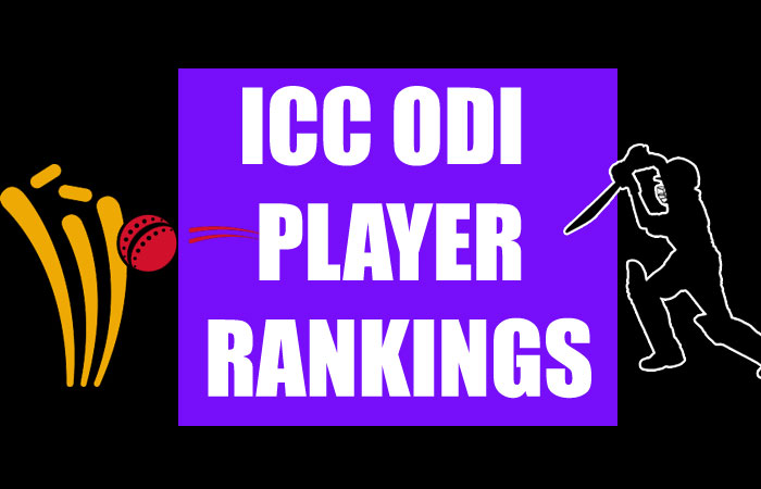 ICC ODI Player Rankings 2020