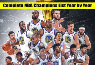 Complete NBA Champions List Year by Year