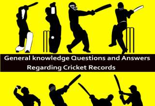Cricket General knowledge Questions and Answers Regarding Cricket Records