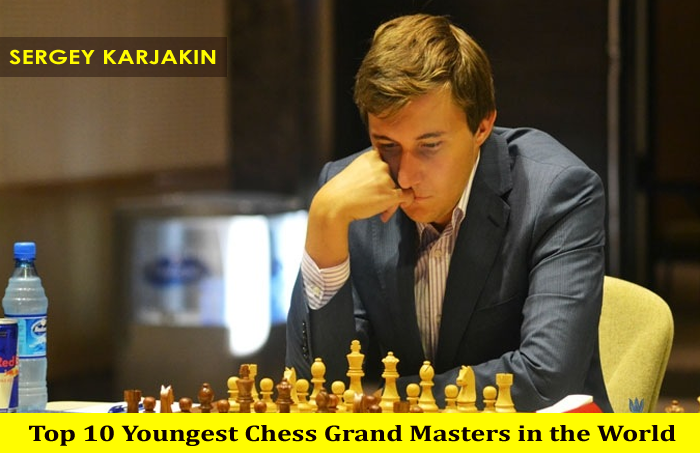 Top 10 Youngest Chess Grand Masters of the World