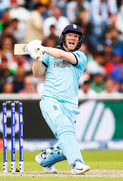 Fourth Fastest Hundred in World Cup history hit by Eoin Morgan