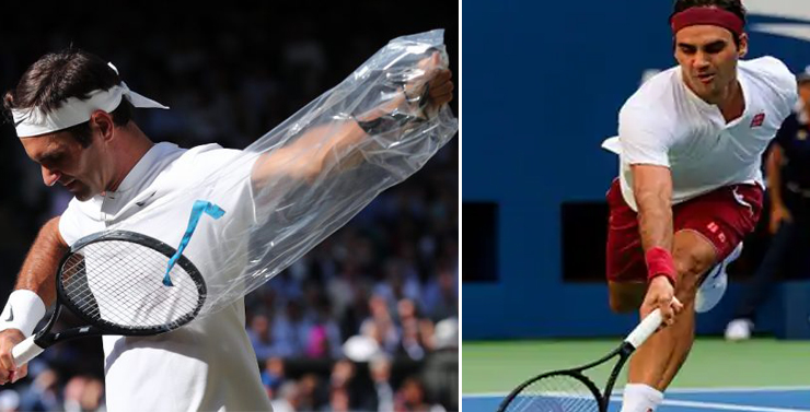 Roger Federer tests a New Racket to Change for the Upcoming US Open