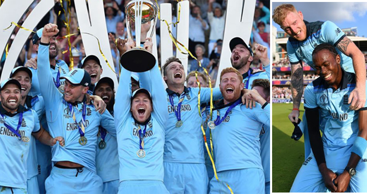 Surprisingly England won the World cup for a first time