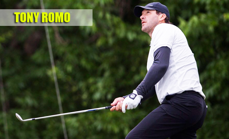 Tony Romo is Successful in his Sport and Celebrity Golf