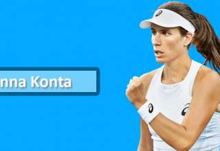 Cincinnati Masters Tennis : Johanna Konta loses to Rebecca Petersen in the First Round