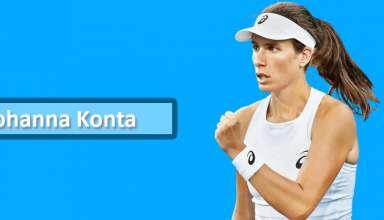 Cincinnati Masters Tennis : Johanna Konta loses to Rebecca Petersen in the First Round