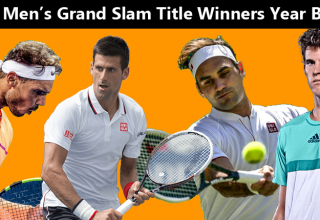 List of Men's Grand Slam Title Winners Year By Year
