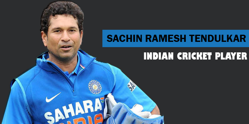 Profile of Indian Cricket Player Sachin Tendulkar