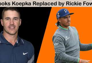 Brooks Koepka injured and replaced by Rickie Fowler in the Presidents Cup 2019