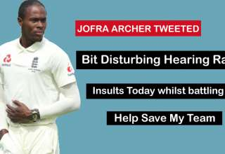 New Zealand Cricket Says sorry request to Racist Abused England Fast Bowler Jofra Archer