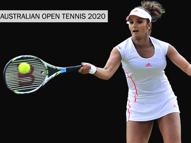 Australian Open Tennis 2020 : Sania Mirza Moved out of Mixed Doubles due to Calf Injury