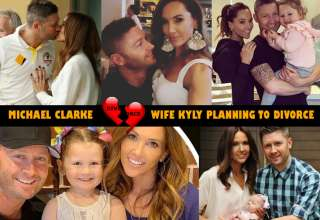 Australian Former Cricket Captain Michael Clarke and wife Kyly Planning to Divorce