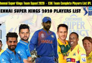 IPL Chennai Super Kings Team Squad 2020 | CSK Team Complete Players List IPL 2020