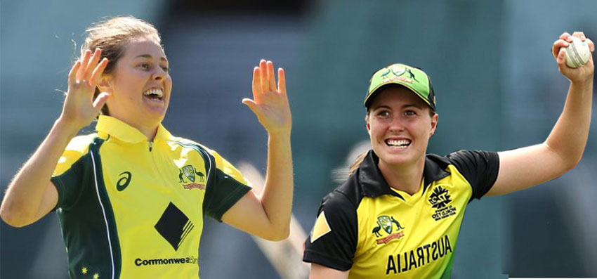 Women's T20 World Cup Molly Strano Replaces For Tayla Vlaeminck