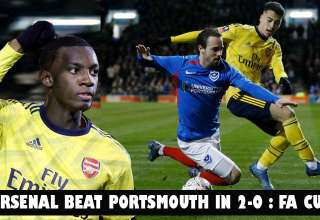 Arsenal Beaten Portsmouth in 2-0 and Move to Sixth Round in the FA Cup