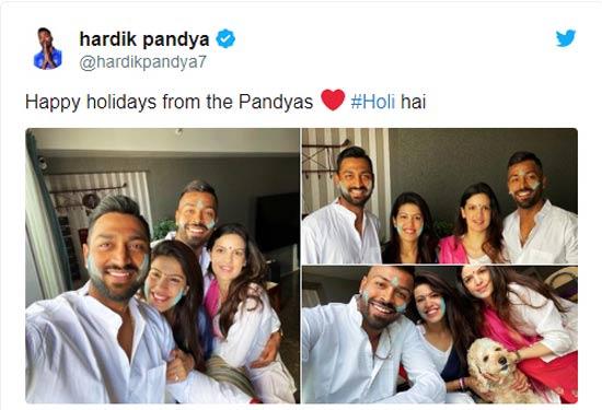 Hardik-Pandya-tweets-for-Holi
