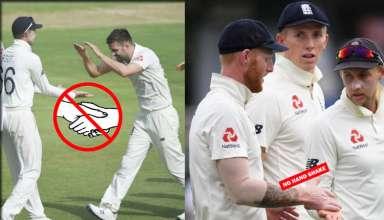 Joe Root Not Shaking Hands with Players in SriLanka Due to Coronavirus