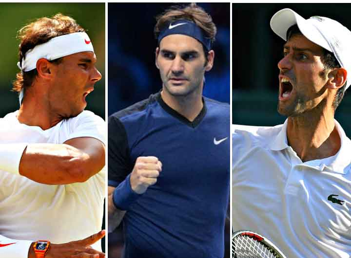 Andy Murray Says - Big Three are the best forever Federer, Djokovic and Nadal