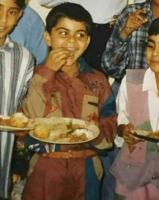 Virat Kohli Childhood Sweet Memories