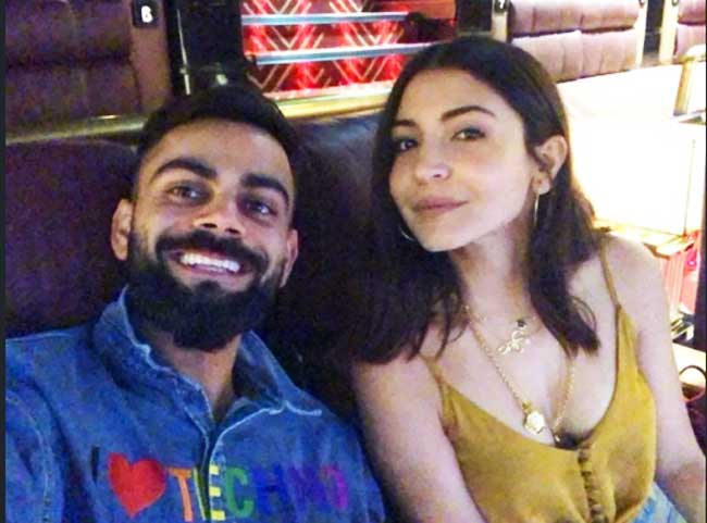 Virat Kohli With Wife Anushka Sharma casual look