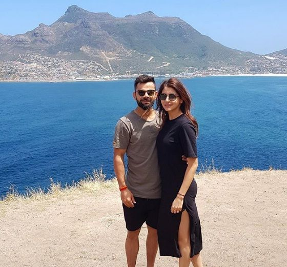 Virat Kohli With Wife Anushka Sharma in Honeymoon